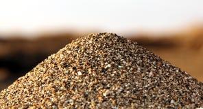 Stapel van zand Royalty-vrije Stock Foto's
