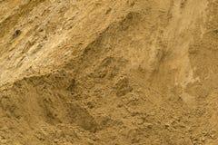 Stapel van zand Stock Fotografie