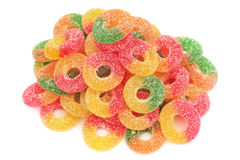 Stapel van zoet suikergoed. Royalty-vrije Stock Foto's
