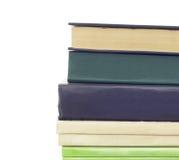 Stapel verschiedene alte Bücher ohne Aufkleber Lizenzfreies Stockfoto