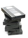 Stapel Videohauptsystem-Filmkassetten Stockbilder