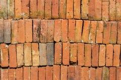 Stapel von alten Ziegelsteinen, Beschaffenheit Lizenzfreie Stockfotografie