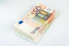 Stapel von Banknoten Lizenzfreies Stockfoto