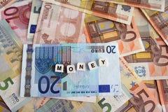 Stapel von Banknoten Stockfotografie