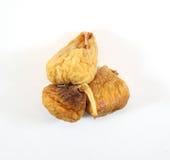 Stapel von Bonbon getrockneten spanischen Feigen Stockfotos