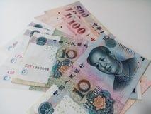 Stapel von Chinese-Taipeh-Geld Lizenzfreies Stockbild