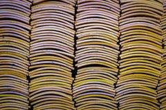 Stapel von chinesischen Dachplatten Lizenzfreies Stockbild