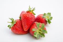 Stapel von Erdbeeren stockfotos