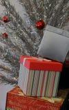 Stapel von Geschenken Lizenzfreies Stockfoto
