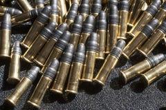 Stapel von Kugeln Stockfotografie