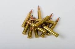 Stapel von Kugeln Stockfoto