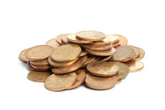 Stapel von Münzen Stockfotografie