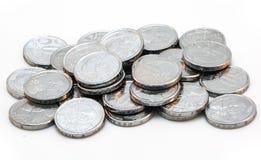 Stapel von Münzen Lizenzfreie Stockfotografie