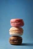 Stapel von Macarons lizenzfreies stockfoto