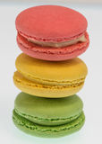 Stapel von Macarons Lizenzfreie Stockfotos