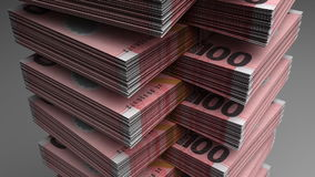 Stapel von Neuseeland-Dollar vektor abbildung