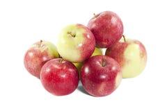 Stapel von Äpfeln Stockfotografie