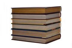 Stapel von sechs Büchern stockbilder