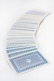 Stapel von Spielkarten Stockbilder
