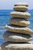Stapel von Steinen stockfotografie