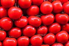 Stapel von Tomaten Stockfotografie