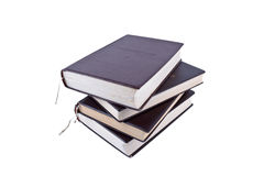 Stapel von vier Büchern lizenzfreie stockfotos