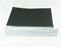 Stapel Weißbücher lizenzfreies stockfoto