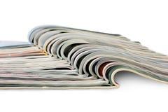 Stapel Zeitschriften Lizenzfreie Stockfotos