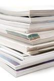Stapel Zeitschriften lizenzfreie stockfotografie