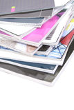 Stapel Zeitschriften stockfotografie