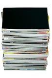 Stapel Zeitschriften Lizenzfreies Stockfoto
