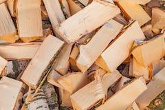 Stapelhout Stock Afbeeldingen