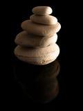 stapeln stenar zen Arkivbild
