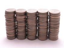 Stapels Kwarten 2 Royalty-vrije Stock Afbeeldingen