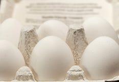 Stapels van eieren Stock Foto
