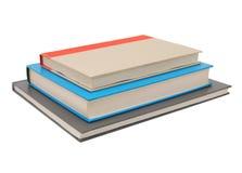 stapla för böcker Arkivfoto