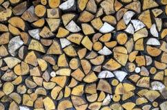 stapla trä Royaltyfri Fotografi