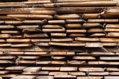 stapla trä Fotografering för Bildbyråer