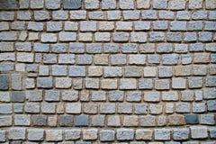 Staplad stenvägg Arkivbilder