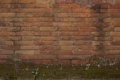 Staplad tegelstentextur Arkivfoto