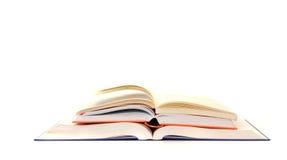 staplade böcker Fotografering för Bildbyråer