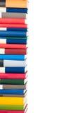 staplade böcker Arkivfoton