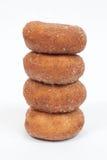 Staplade Donuts Royaltyfri Foto
