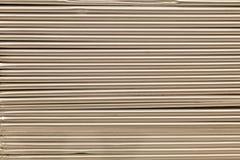 Staplade kanter för aluminium Arkivfoton