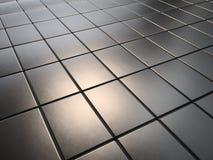 Staplade metallplattor av tolkningen för magneter 3D för sällsynt jord för neodymium Arkivbilder