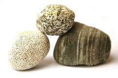 staplade pebbles Arkivbild
