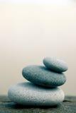 staplade pebbles Fotografering för Bildbyråer