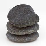 Staplade stenar Arkivfoto