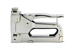 Staple gun. Isolated in white Stock Image