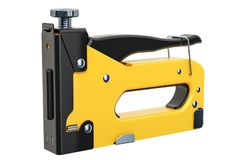 Staple gun, 3D rendering vector illustration